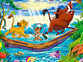 Король Лев - Найди алфавит