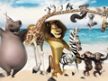 Мадагаскар - поиск алфавита
