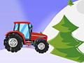 Новогодний трактор