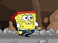 Спанч Боб в опасной пещере