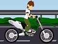 Мотоциклист Бен 10