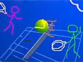 Теннис человека-палки