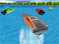 3Д гонка на моторных катерах
