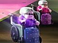 Гонка на инвалидных креслах
