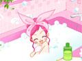 Сью принимает ванную