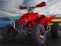 3D наездник квадроцикла
