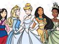 Принцессы Дисней - раскраски 2