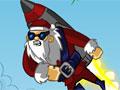 Санта на ракете 2
