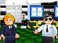 Игра Лего: полицейские строители