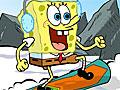 Спанч Боб на сноуборде в Швецарии