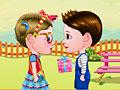 Малышка Хейзел и Лиам: день Святого Валентина
