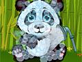 Милая малышка панда