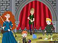 Уборка с принцессой Меридой