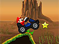 Супер Марио мчится по горам