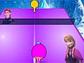 Настольный теннис с принцессой Анной