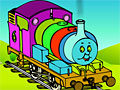Томас - раскраска