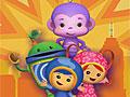 Команда Умизуми: спасение фиолетовой обезьянки