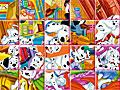 101 далматинец: пазлы