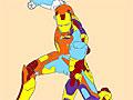 Раскрась Железного человека