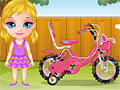 Детская прогулка на велосипеде