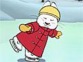 Макс и Руби катаются на коньках