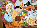 Пиноккио: Онлайн раскраска