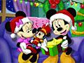 Рождество Микки: Скрытые буквы