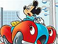 Микки Маус на автомобиле: Головоломка