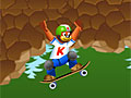 Тедди на скейтборде