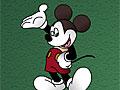 Микки Маус из пластелина