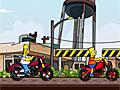Семейные гонки Симпсонов