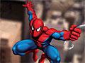 Человек-паук взбирается по стене