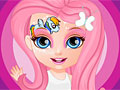 Малышка Барби в стиле Май литл пони