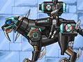 Соберите саблезубого тигра робота