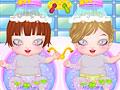 Новорожденные близнецы