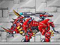 Роботы динозавры: Пожарный динобот