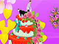 Украшение свадебного торта