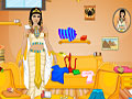 Царица Клеопатра: уборка комнаты