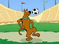 Скуби Ду набивает мяч