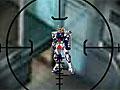 Ультрамен стреляет в роботов