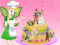 Свадебный торт Динь-Динь