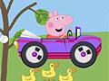 Свинка Пеппа: Гонка на автомобиле