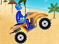 Тропическая гонка на квадроцикле