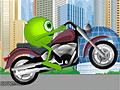 Корпорация монстров на мотоцикле