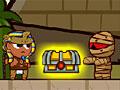 Мумии и Фараон сторожат сокровища