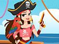 Карибский пират-девушка