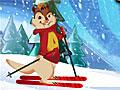 Элвин и бурундуки: Горные лыжи