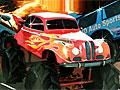 Быстрый грузовик-монстр