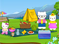 Хелло Китти: Семья на пикнике