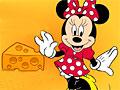 Минни Маус в поисках сыра